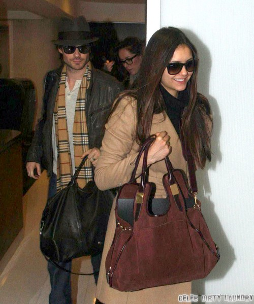 Ian Somerhalder & Nina Dobrev Have Broken Up - Relationship Over For Good!