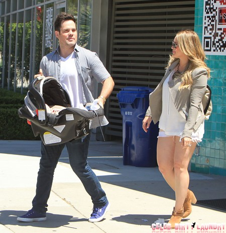 Hilary Duff And Family Out House Hunting In Beverly Hills