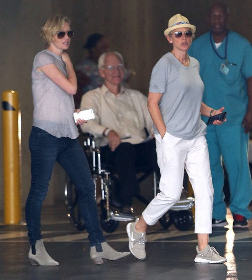 Portia De Rossi Plastic Surgery: Exclusive... Ellen DeGeneres & Portia De Rossi Stop By A