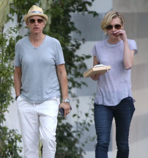 Portia De Rossi Pregnancy: Exclusive... Ellen DeGeneres & Portia De Rossi Stop By A
