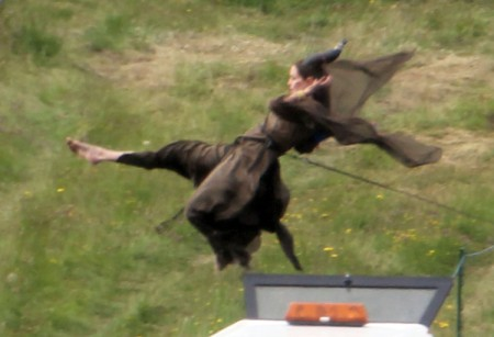 First Pics Of Angelina Jolie On The Set Of Maleficent (Photos) 0626