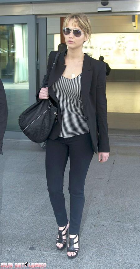 Jennifer Lawrence Protests 'I Am NOT Fat'