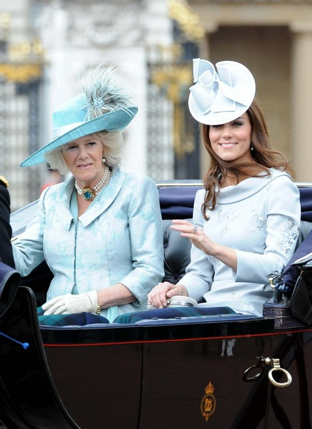 Camilla Parker-Bowles Says Kate Middleton Must Curtsy!
