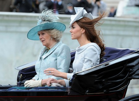 Camilla Parker-Bowles Surprises Kate Middleton At Home Causing Charles And William To Fight!