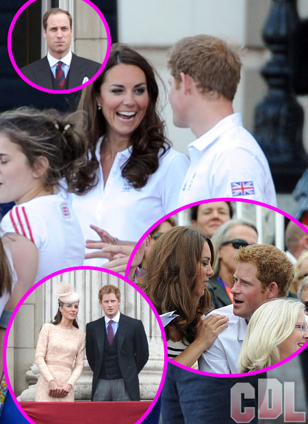 Prince Harry and Kate Middleton Wrapped Up in Steamy Royal Affair