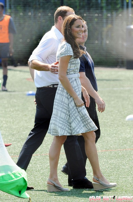Prince William & Kate Support A New Youth Sports Project