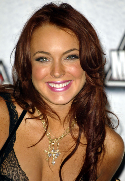 Is Lindsay Lohan Trying To Look Young Again By Dying Her Hair Back To Red?