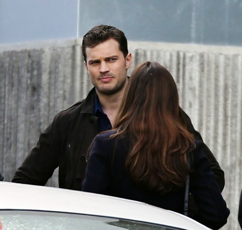Dakota Johnson Simulating Fifty Shades Darker 'Tedious' Sex Scenes With Jamie Dornan (PHOTOS)