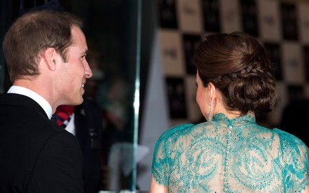 Kate Middleton Wears A See Through Dress (Photo)