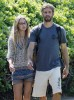 Paul Walker And His Girlfriend Out For A Walk In Maui