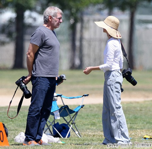 Harrison Ford's Cancer Scare Terrifies Calista Flockhart (Photo)