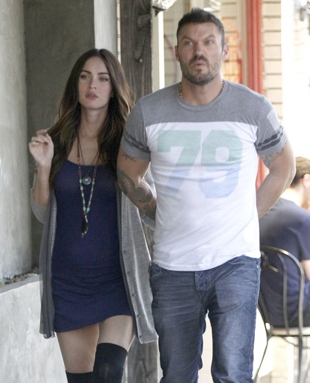 Megan Fox And Brian Austin Green Hide Baby Bump (Photo)2