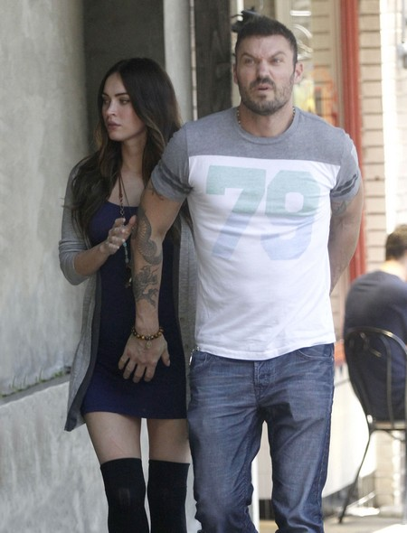 Megan Fox And Brian Austin Green Hide Baby Bump (Photo)