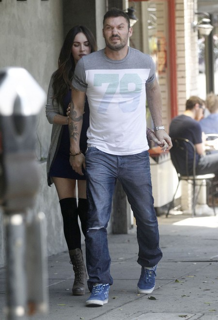 Megan Fox And Brian Austin Green Hide Baby Bump (Photo)1