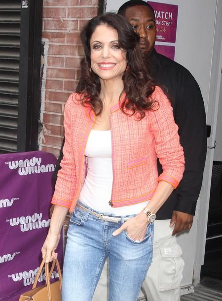 Bethenny Frankel Visits 'The Wendy Williams Show'