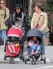 Bethenny Frankel Takes Bryn For A Walk In New York City