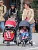 Bethenny Frankel Takes Bryn For A Walk In New York City