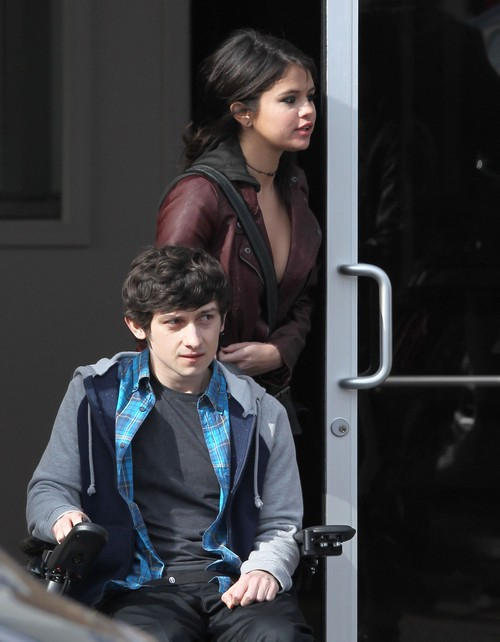 Selena Gomez Films Quot The Revised Fundamentals Of Caregiving