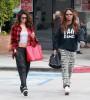 Selena Gomez Leaving A Dance Studio