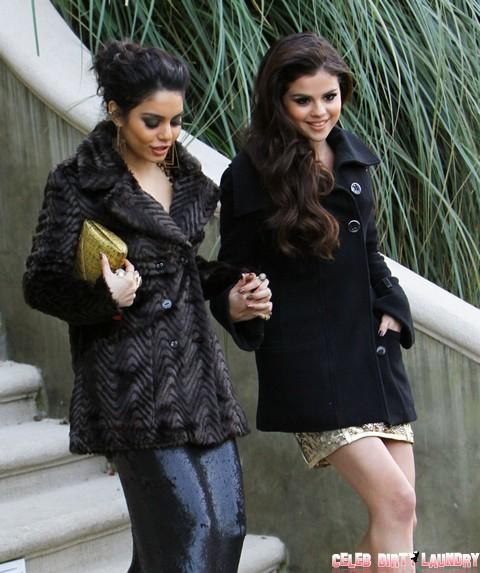 Selena Gomez & Vanessa Hudgens Head To The Golden Globes