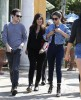 Semi-Exclusive... Selena Gomez Lunches At Casa Vega With Friends