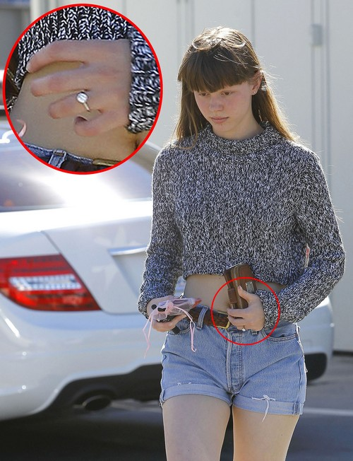Is Mia Goth Engaged To Shia Labeouf Celeb Dirty Laundry