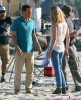 Michael C. Hall On The Set Of 'Dexter'