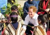 Prince Harry Visitng The Integra Foundation In Chile