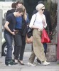 Semi-Exclusive... Anne Hathaway & Adam Shulman Out For Lunch With Friends