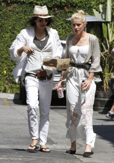 Amber Heard's Ex-Girlfriend And Johnny Depp Look-A-Like Gives Couple Her Blessing (Photos) 0712