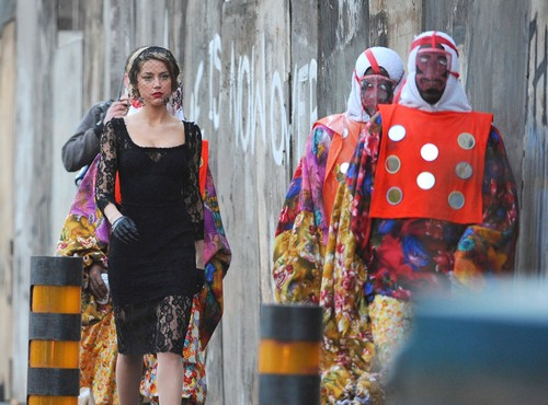 "Amber Heard Films ""London Fields"""