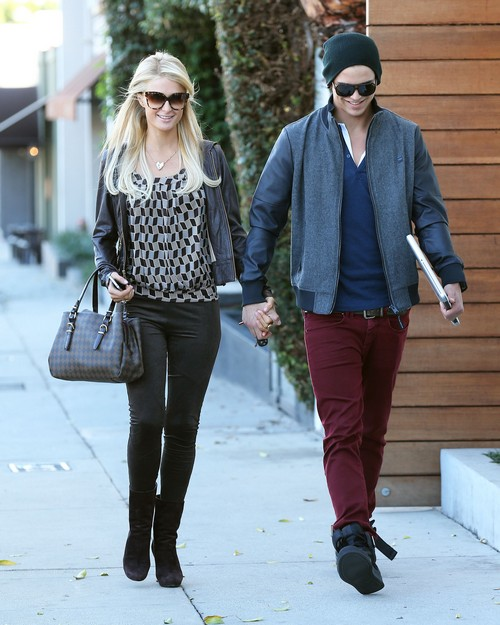 Paris Hilton & River Viiperi Out And About In West Hollywood