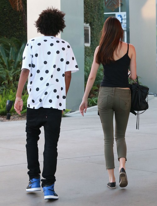 Exclusive... Kendall Jenner Out With Mystery Man In Hollywood