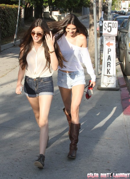 Kendall and Kylie Jenner Want To Escape Pimping Momager Kris Jenner