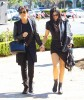 Kris & Kylie Jenner Stop For Sushi