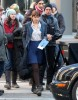 Dakota Johnson Films 'Fifty Shades Of Grey'