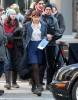 Dakota Johnson Films 'Fifty Shades Of Grey'