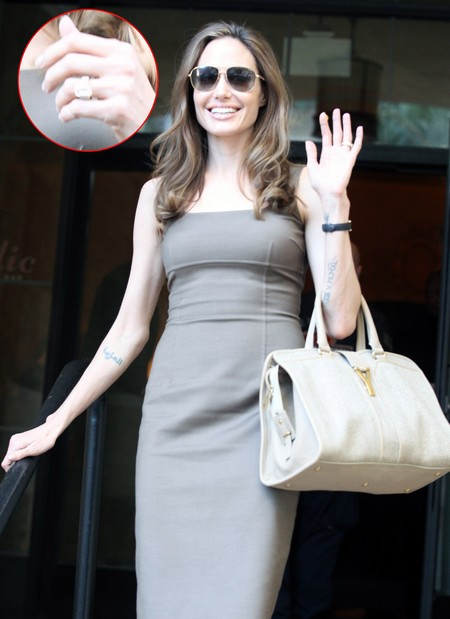 Ungrateful Angelina Jolie Hates Her Engagement Ring