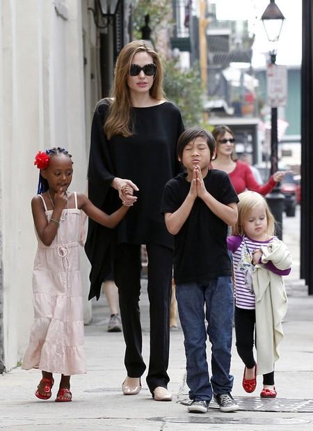 Angelina Jolie In 'Fifty Shades of Grey' As Anastasia Steele
