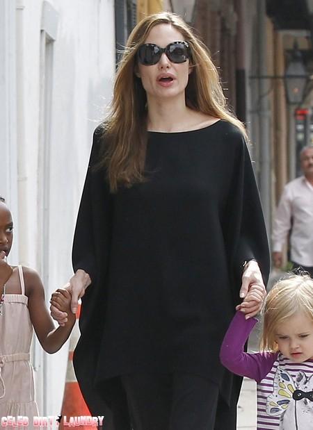 Angelina Jolie Is Losing Her Mind Over Brad Pitt's Crush On Berenice Bejo