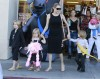 Angelina Jolie Takes Her Kids Shopping For Halloween Costumes