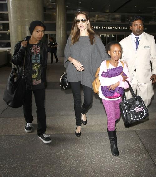 Angelina Jolie Calls Kim Kardashian a 'Witless Bimbo' - Report