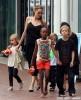 Angelina Jolie Takes Her Kids To Sydney Aquarium
