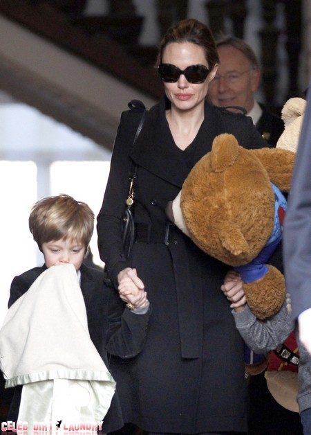 Report: Angelina Jolie Is Chain-Smoking, Drinking, And Bursting Into Tears