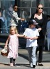 Angelina Jolie Has A Girls' Day With Her Daughters
