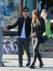 Semi-Exclusive... Joe Jonas & Blanda Eggenschwiler Out And About On Melrose