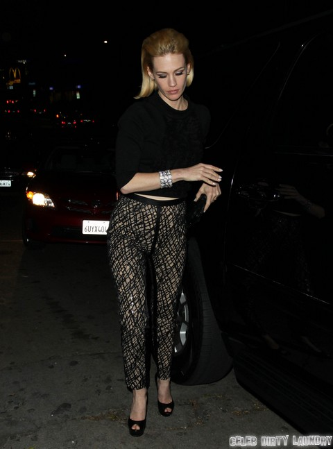 Celebrities Enjoy A Night Out At Chateau Marmont