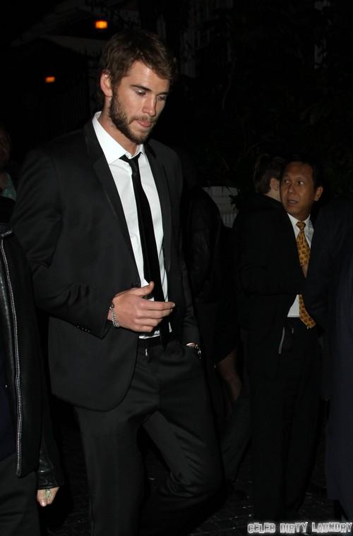 Liam Hemsworth In Australia; On A Break From Miley Cyrus