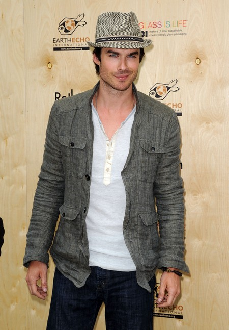 Ian Somerhalder Interested In 'Fifty Shades Of Grey'?
