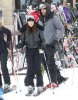 Kim, Kourtney & Scott Hit The Slopes In Utah